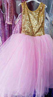 Sparkle Princess - Gold/Pink