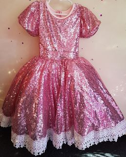 Sparkle Lace Princess - Pink