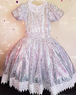 Sparkle Lace Princess - Silver