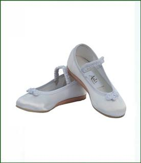 Satin Flower Girl Shoes