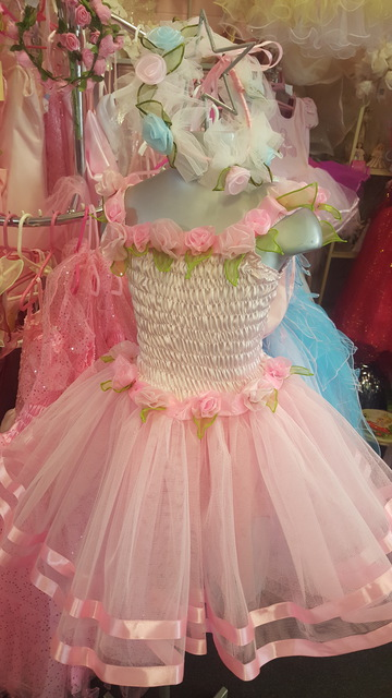 Sugar Plum Dress - Light Pink